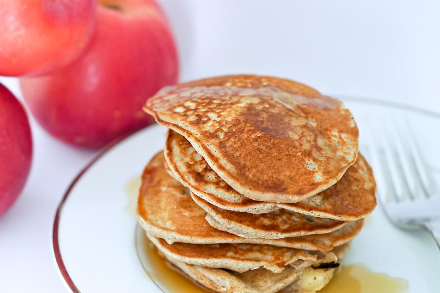 apple cinnamon pancakes, gluten free