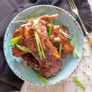 Sticky Ginger Garlic Asian Ribs – Easy Recipe