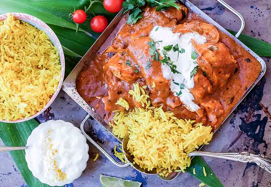 Gluten-Free Low-Fat Indian Butter Chicken