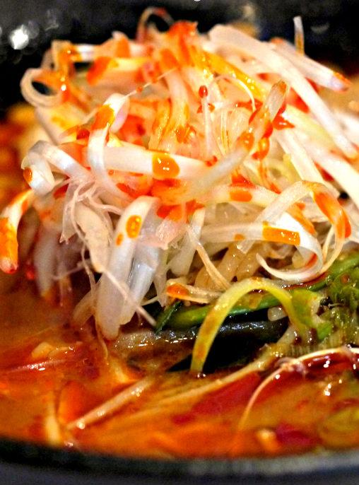 Easy Spicy Chicken Ramen Soup