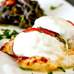 Gluten Free Baked Chicken Parmigiano