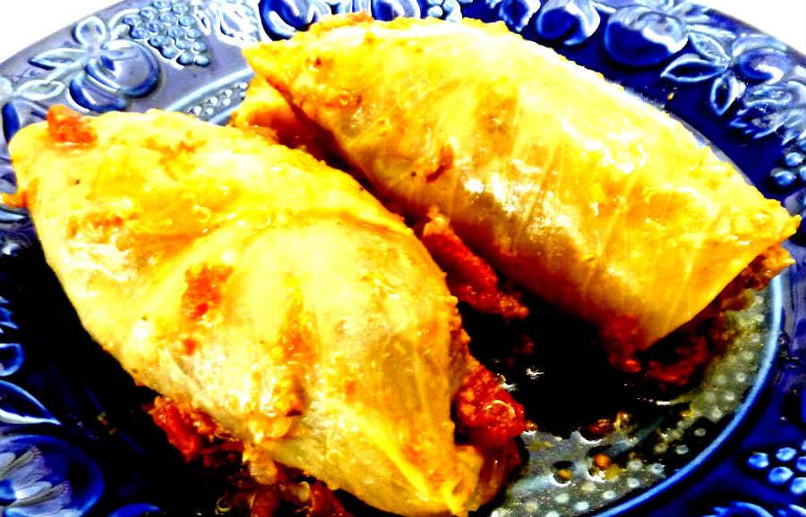 Gluten Free Authentic Cabbage Rolls
