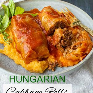 Authentic Hungarian Cabbage Rolls