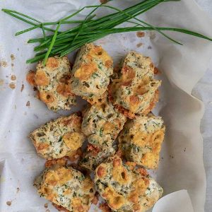 Gluten-Free Cheese And Chives Scones