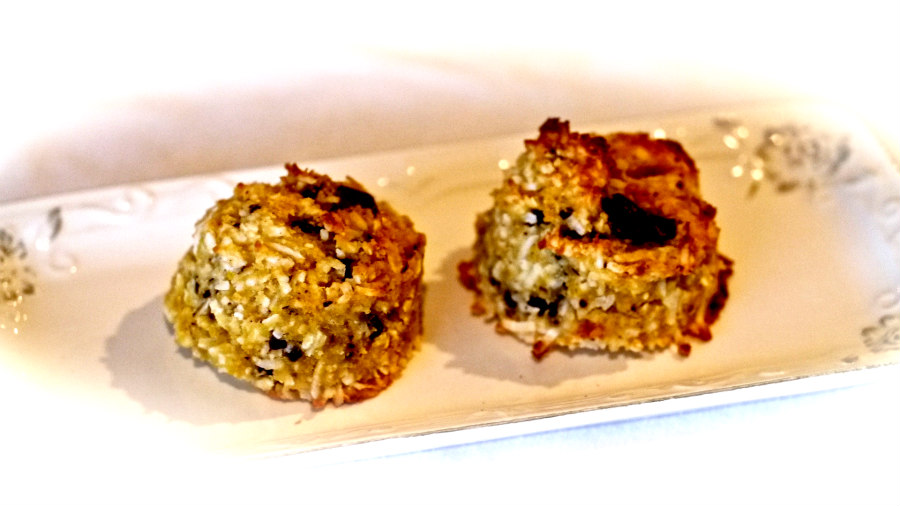Gluten Free Chewy Maple Coconut Chocolate Cookies