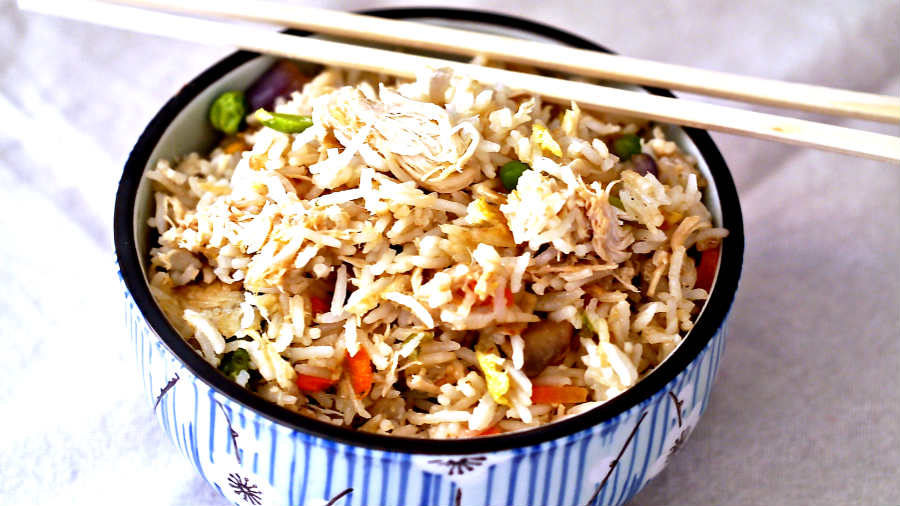 Gluten Free Easy Classic Chicken Fried Rice