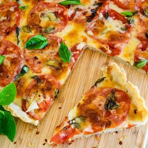 Gluten Free Pizza Crust (Vegan)
