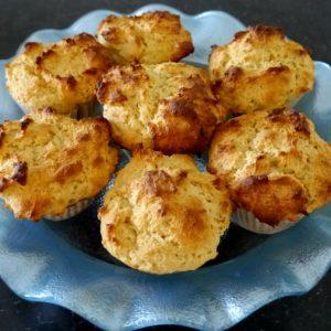 Gluten-Free Lemon Ricotta Cheese Muffins
