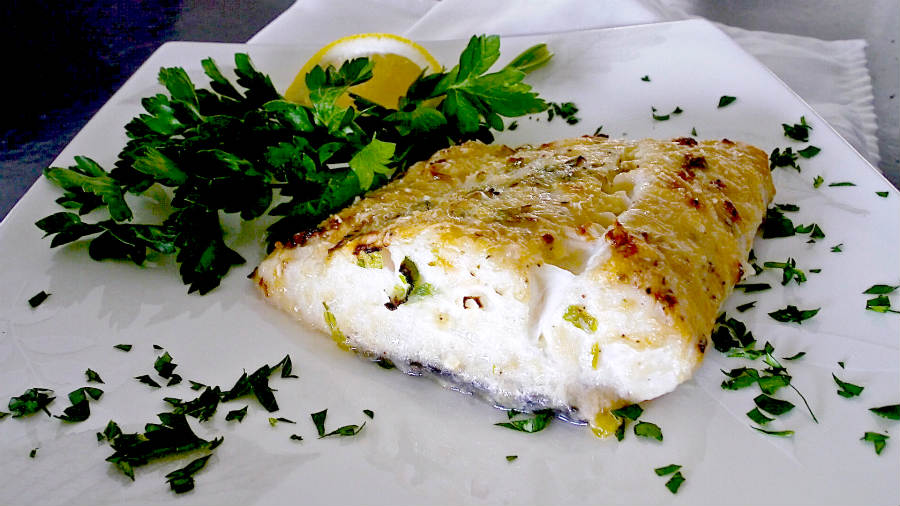 Easy Parmesan Crusted Halibut Recipe