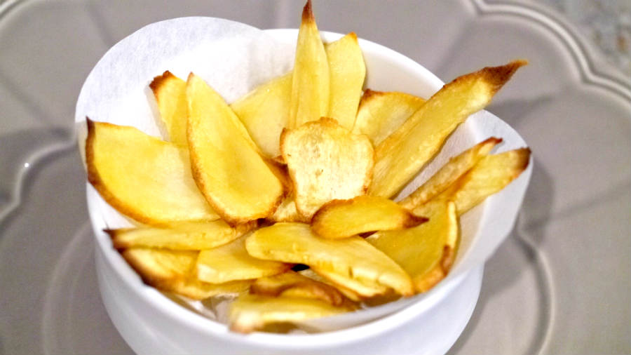 Healthy Crispy Parsnip Chips Recipe