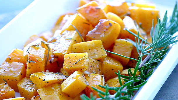 Simply Roasted Butternut Squash
