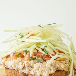 Super Easy Salmon Salad