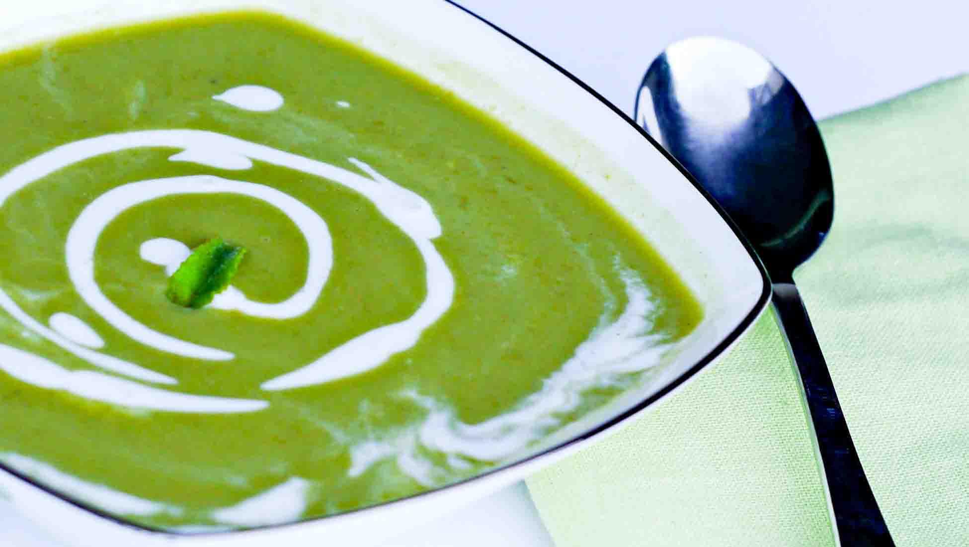 Asparagus Soup With Mint