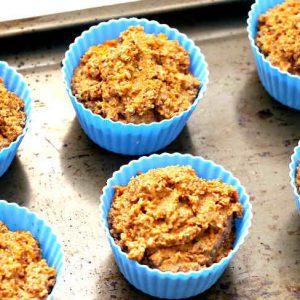 Gluten Free Carrot Apple And Quinoa Muffins