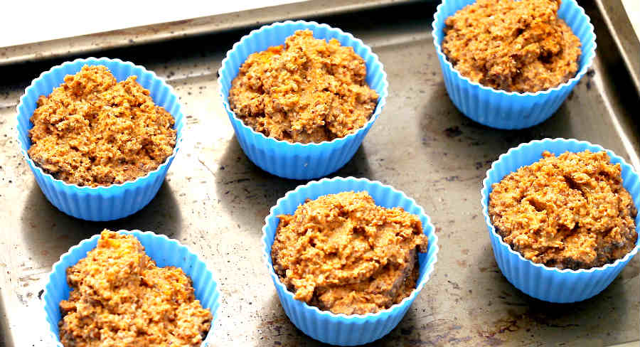 Gluten Free Carrot Apple And Quinoa Muffins