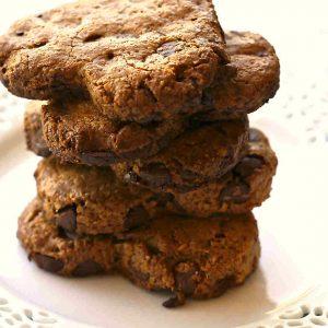 Gluten Free Walnut Coconut Chocolate Chunkies
