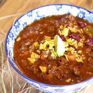 Gluten Free Classic Chili Recipe