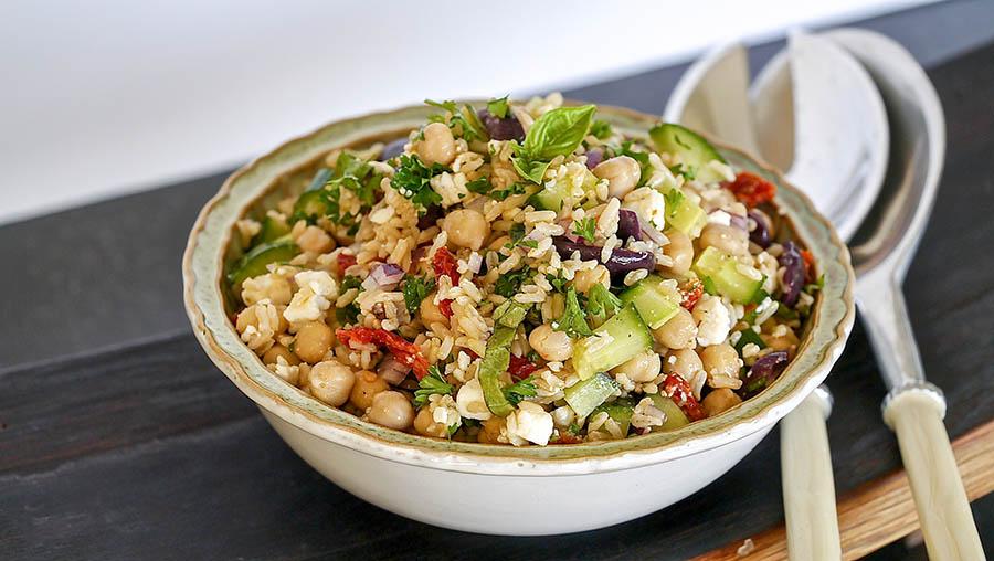 brown rice salad gluten free