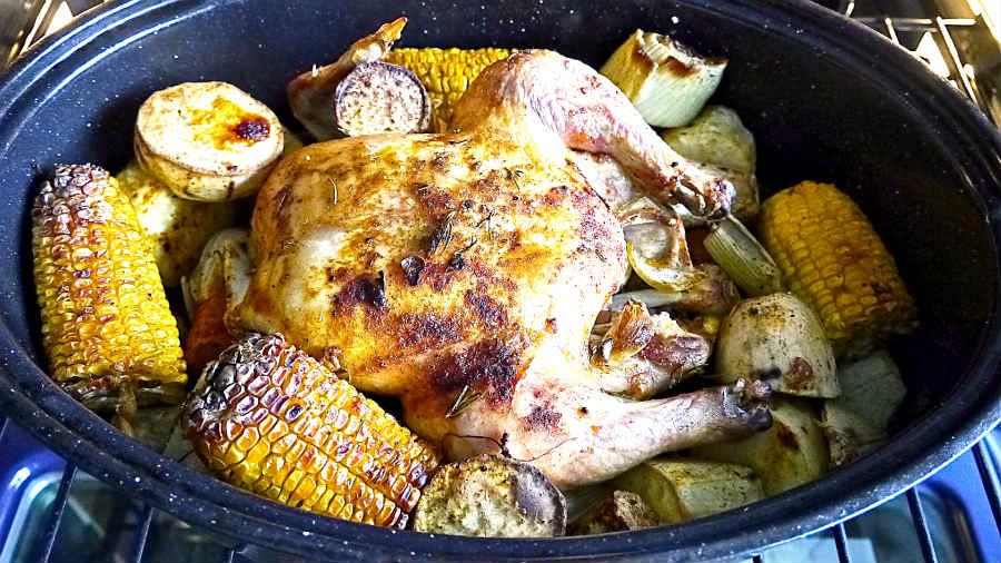 One Pot Rustic Chicken Family Style