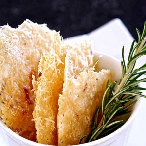 Gluten Free Simple Parmesan Chips