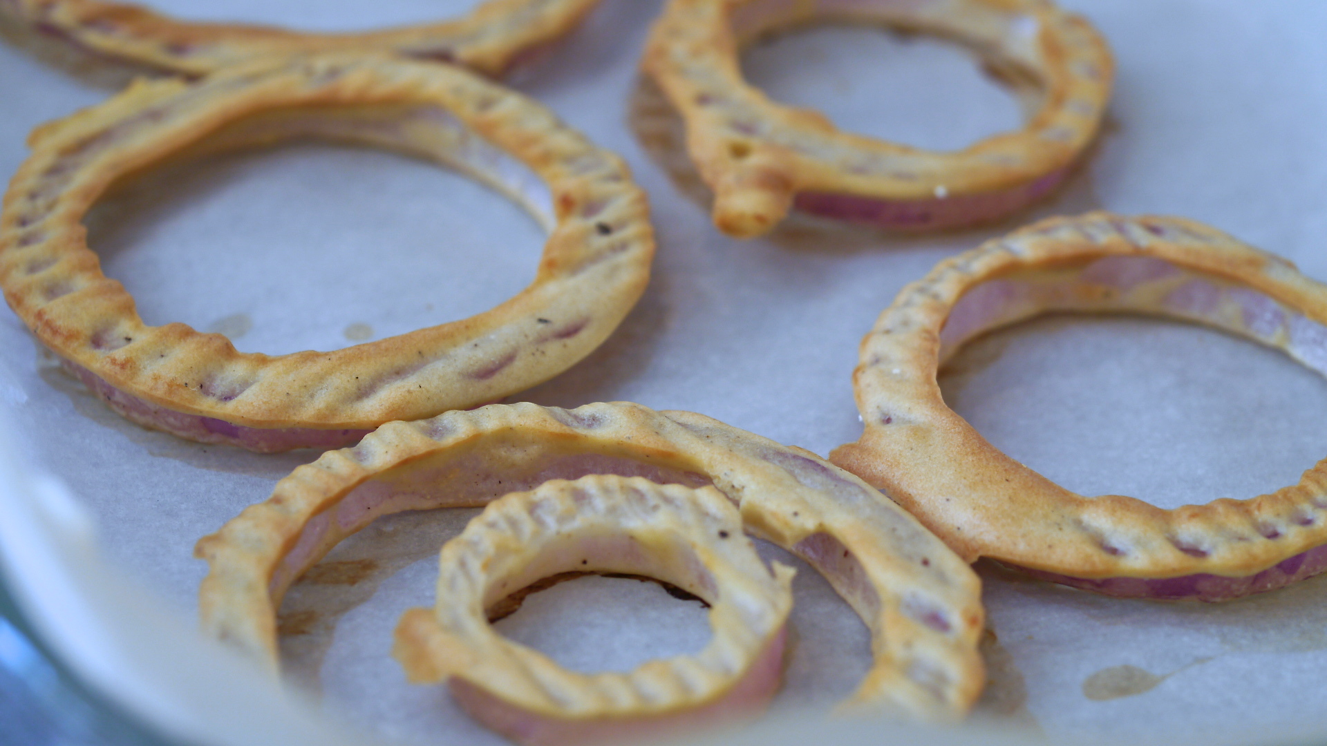 Crispy Onion Rings Without Frying