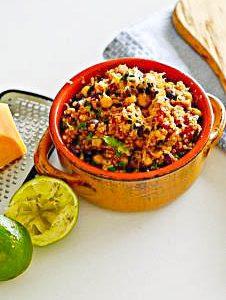 Gluten-Free Mexican Inspired Quinoa