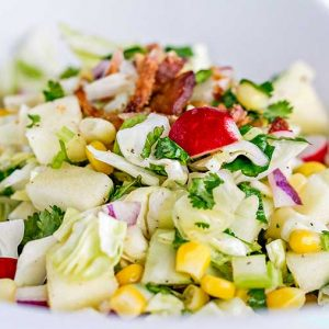 Cabbage Chop Salad – Easy Recipe