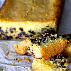 Gluten Free Cornbread with Raisins