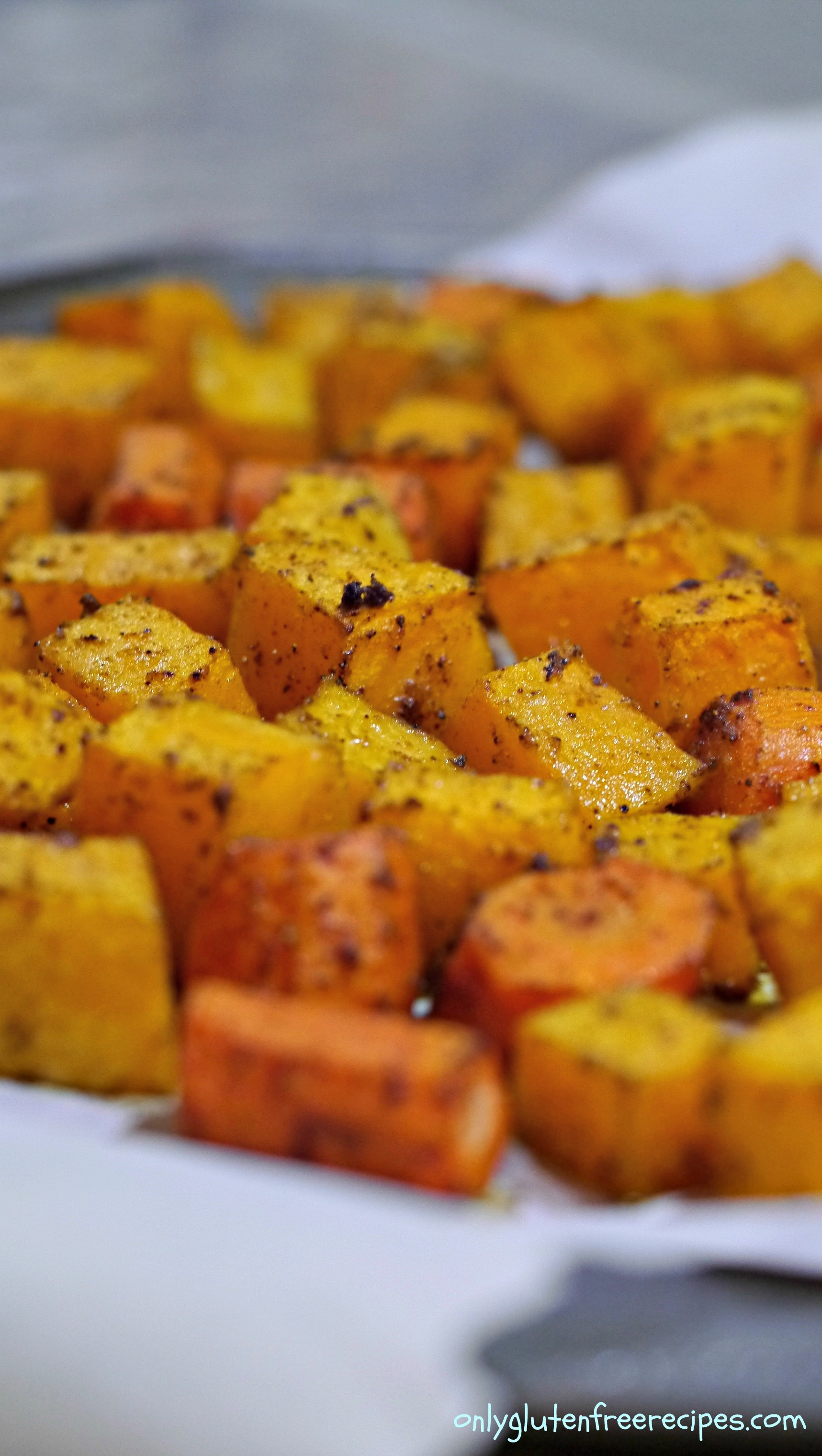 Spiced Squash and Carrots