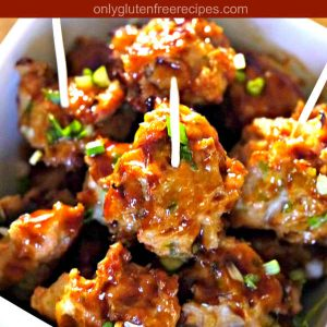 Gluten-Free Asian Meatballs Recipe