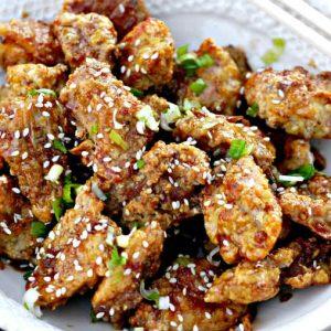 Gluten-Free Baked Honey Garlic Chicken