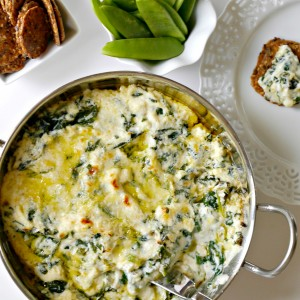 Baked Spinach Ricotta Dip