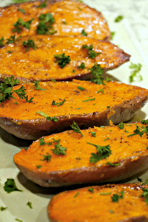 Simply Roasted Sweet Potato ~ Naturally Gluten-Free