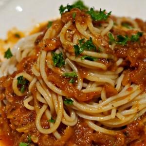 Zucchini Spaghetti Sauce – Naturally Gluten Free