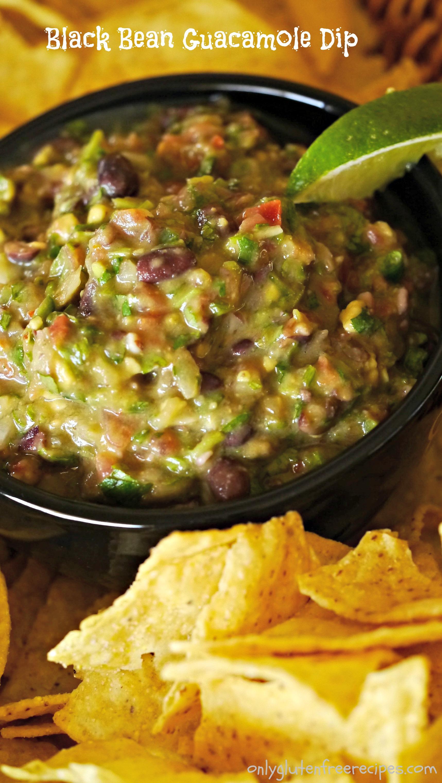 Black Bean Guacamole Dip