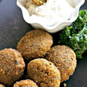 Gluten Free Baked Falafel – Revised Recipe