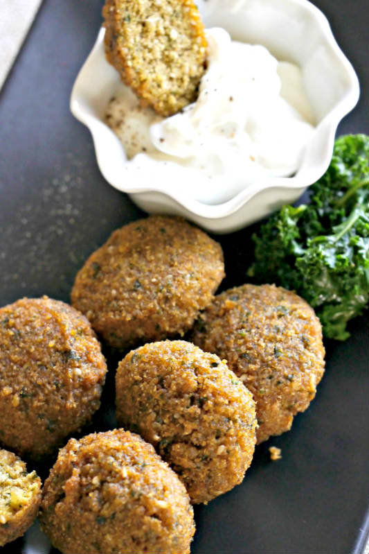 Gluten Free Baked Falafel – Revised Recipe