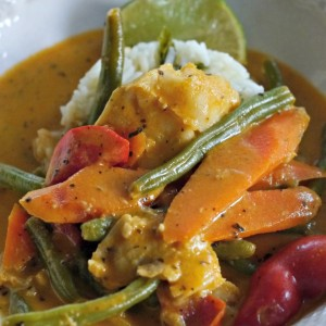 Fish In Red Curry Sauce – Easy Recipe