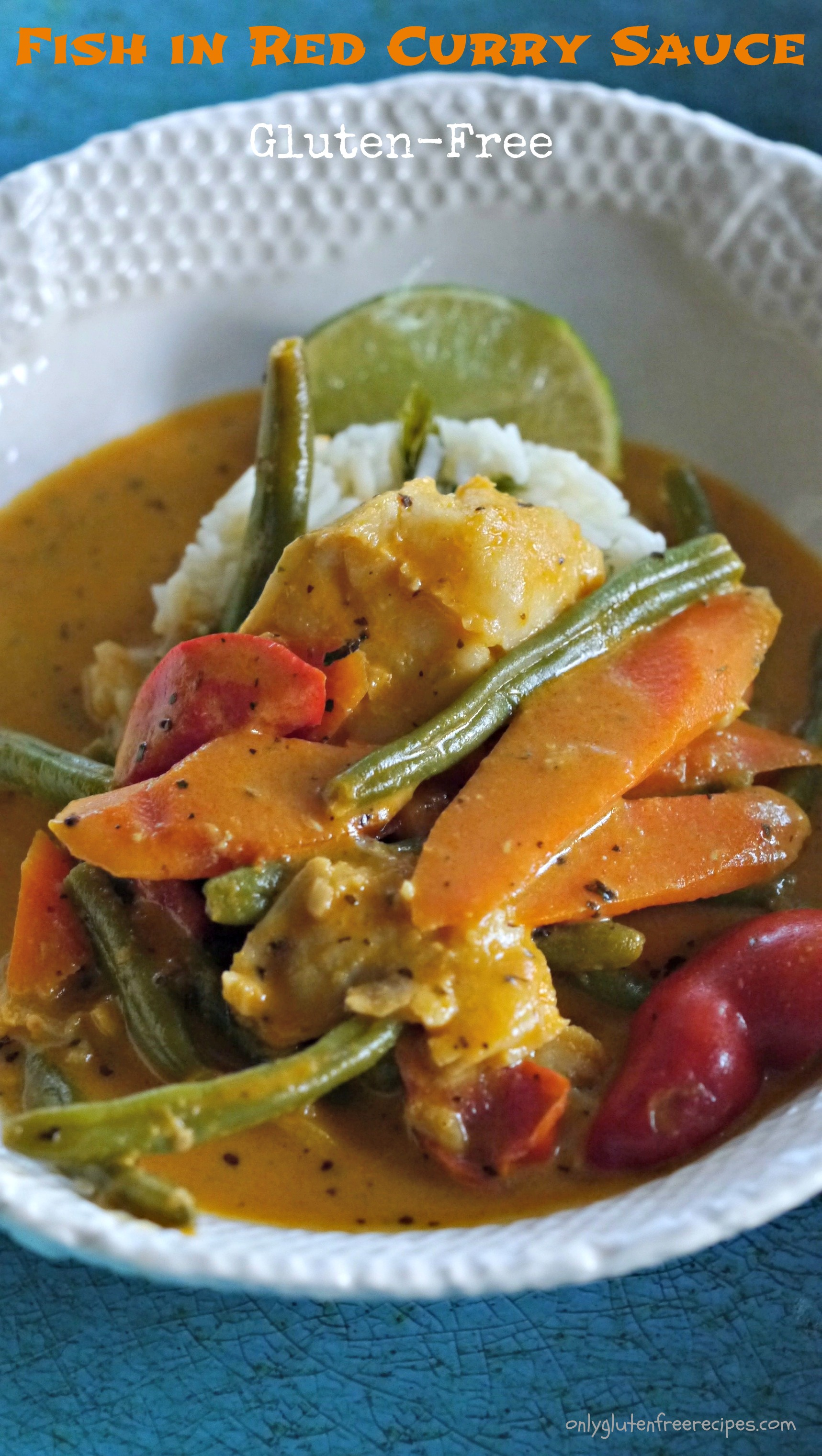Fish in red curry sauce easy recipe only gluten free for Fish sauce gluten free