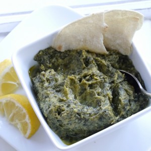 Indian Creamed Spinach ~ Palak