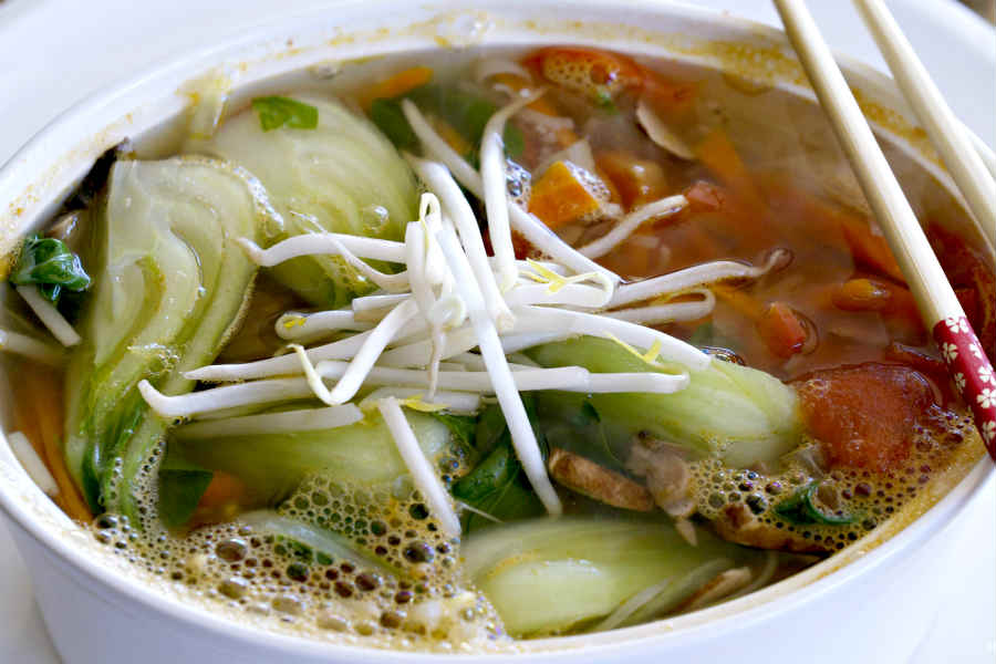 Healthy Low-Carb Bok Choy Soup