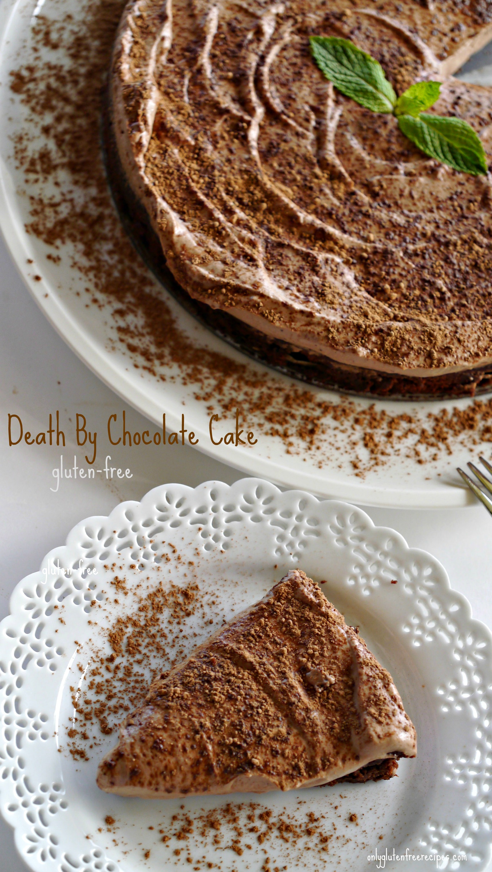 Gluten-Free Death By Chocolate Cake - Only Gluten Free Recipes