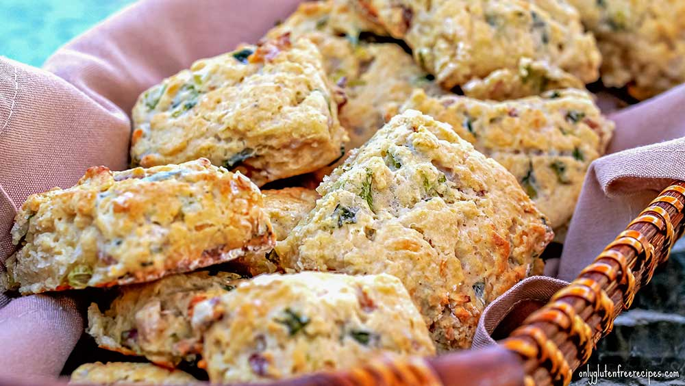 Gluten-Free Rustic Bacon And Cheese Scones