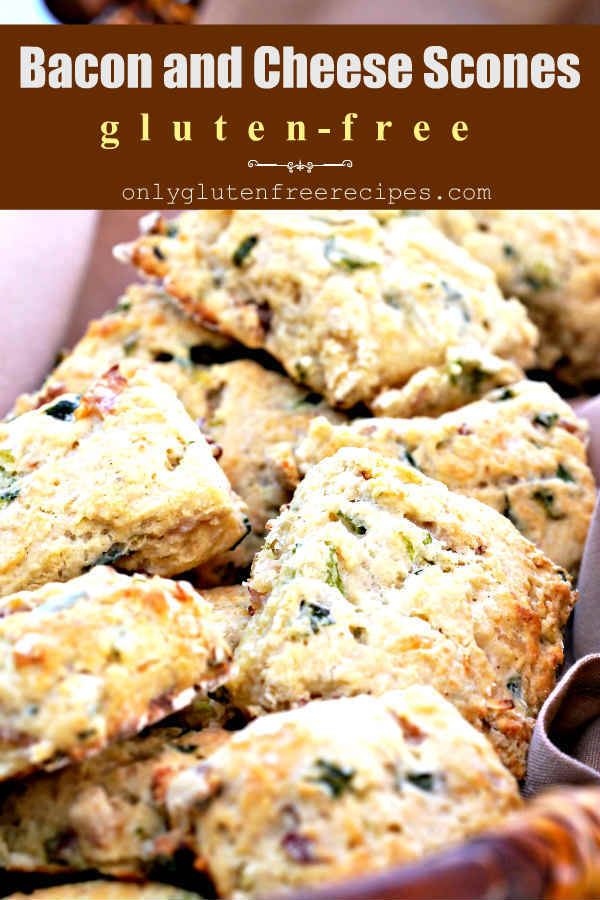 Gluten Free Rustic Bacon And Cheese Scones