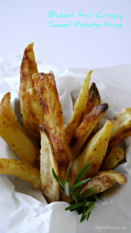 Baked Crispy Sweet Potato Fries