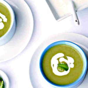 Chilled Mint Pea Soup – Gluten-Free
