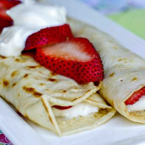 Easy Gluten Free Crepes Recipe