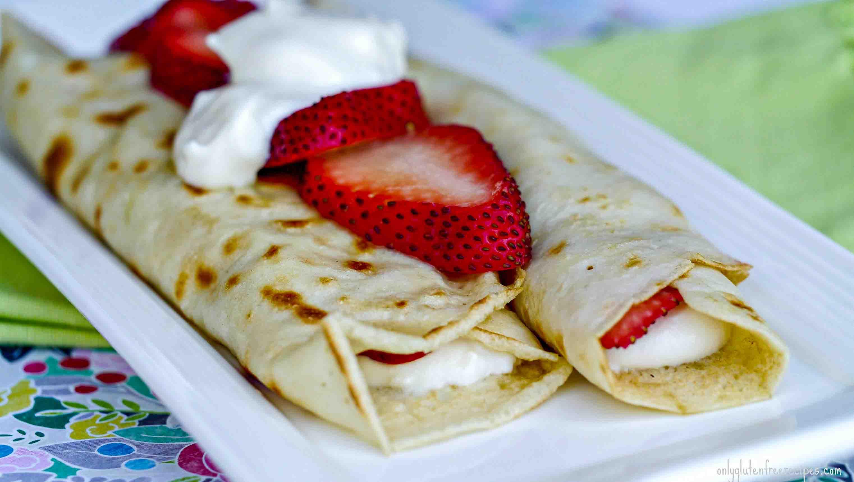 Easy Gluten Free Crepes Recipe