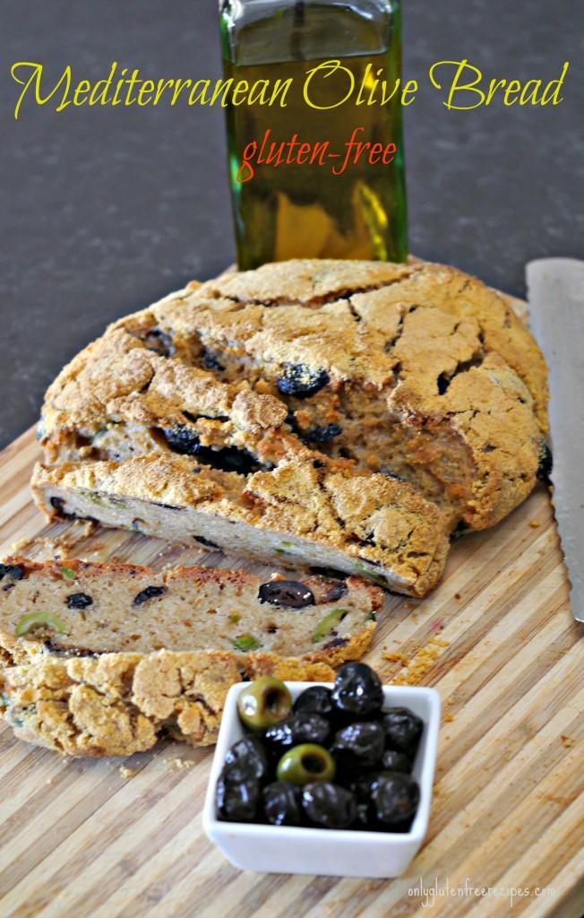 Mediterranean Olive Bread – Gluten Free