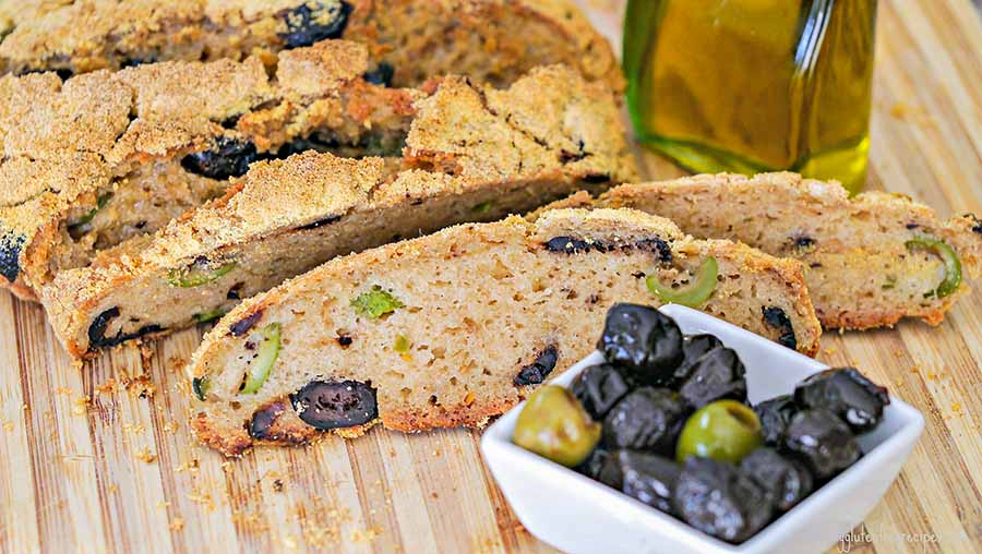 olive,bread,